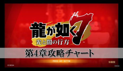 龍が如く7の第4章ストーリー攻略チャートまとめ!